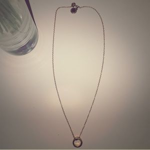 Marc Jacobs Gold Ring Necklace